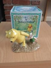 ROYAL DOULTON WINNIE THE POOH FIGURE Pooh And Piglet WP2 - boxed