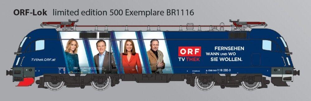 Ho Taurus rail ad-ORF TV Lok-ÖBB-BR 1116 in DC-Tutto esaurito DSS-disponibilità limitata