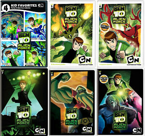 Details about Ben 10 Alien Force Series Complete Volumes 1-9 (1 2 3 4 5 6 7  8 9) NEW DVD SET