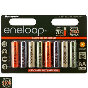 8-x-Panasonic-Eneloop-AA-batteries-1900-mAh-Rechargeable-Ni-MH-Expedition-Accu
