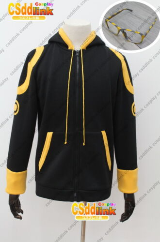 MYSTIC MESSENGER 707 Luciel Choi Saeyoung Cosplay hoodie Costume with glasses CS