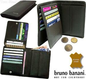 Bruno-banani-Men-039-s-Wallet-Purse-Wallet-Portfolio