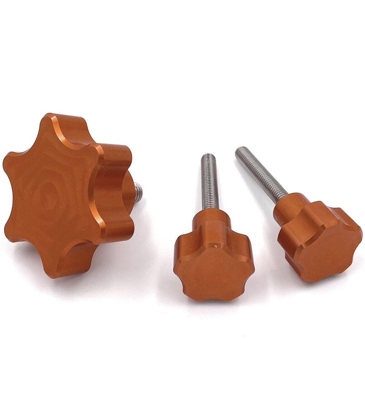 OrangeMade USA Mono-X Knob Upgrade Kit for Anycubic Photon Mono X (Orange)