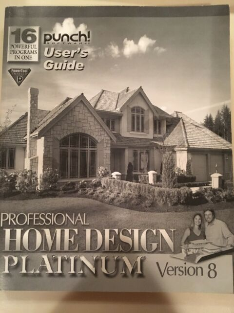 Professional Home Design Platinum Version 10 By Punch Windows Software For Sale Online Ebay