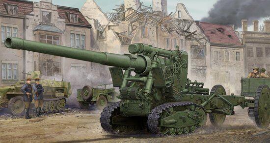 02338 Trumpeter 1 35 Scale Model Soviet Br-2 152mm Gun M1935 Plastic Static