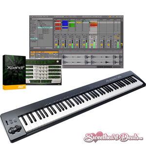 alesis q88 88 key usb midi semi weighted keyboard controller ebay. Black Bedroom Furniture Sets. Home Design Ideas