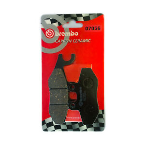 Brake-Pads-Brembo-Rear-Piaggio-Beverly-Cruiser-250-i-e-2007-gt-2009