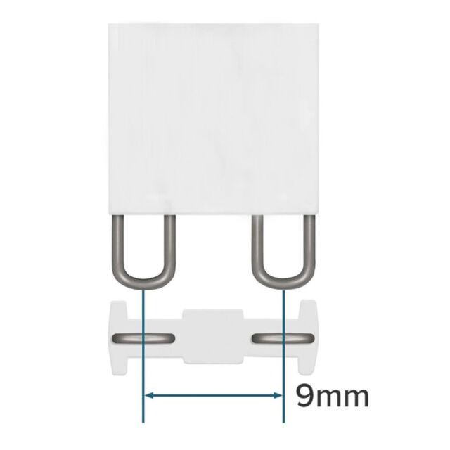 2x osram halopin halogen oven bulb f hob g9 25w 66725