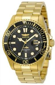 Invicta-Men-039-s-30026-039-Pro-Diver-039-Gold-Tone-Stainless-Steel-Watch