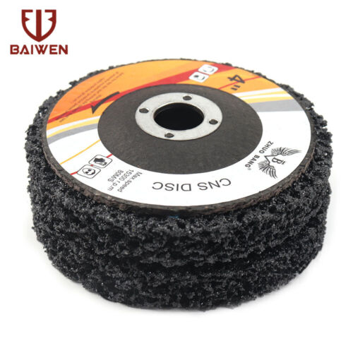 """1-20X  4/""""X5//8/"""" Angle Grinder Poly Strip Disc Wheel For Paint Rust Removal Polish"""