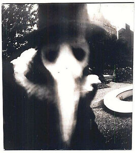 Plague-Doctor-Ghost-Old-Photo-Creepy-for-Halloween-Mask-17-034-x22-034-Art-Print-00198