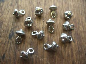 historical clothing /& uniforms. polished Pewter buttons 13mm domed 12 pack