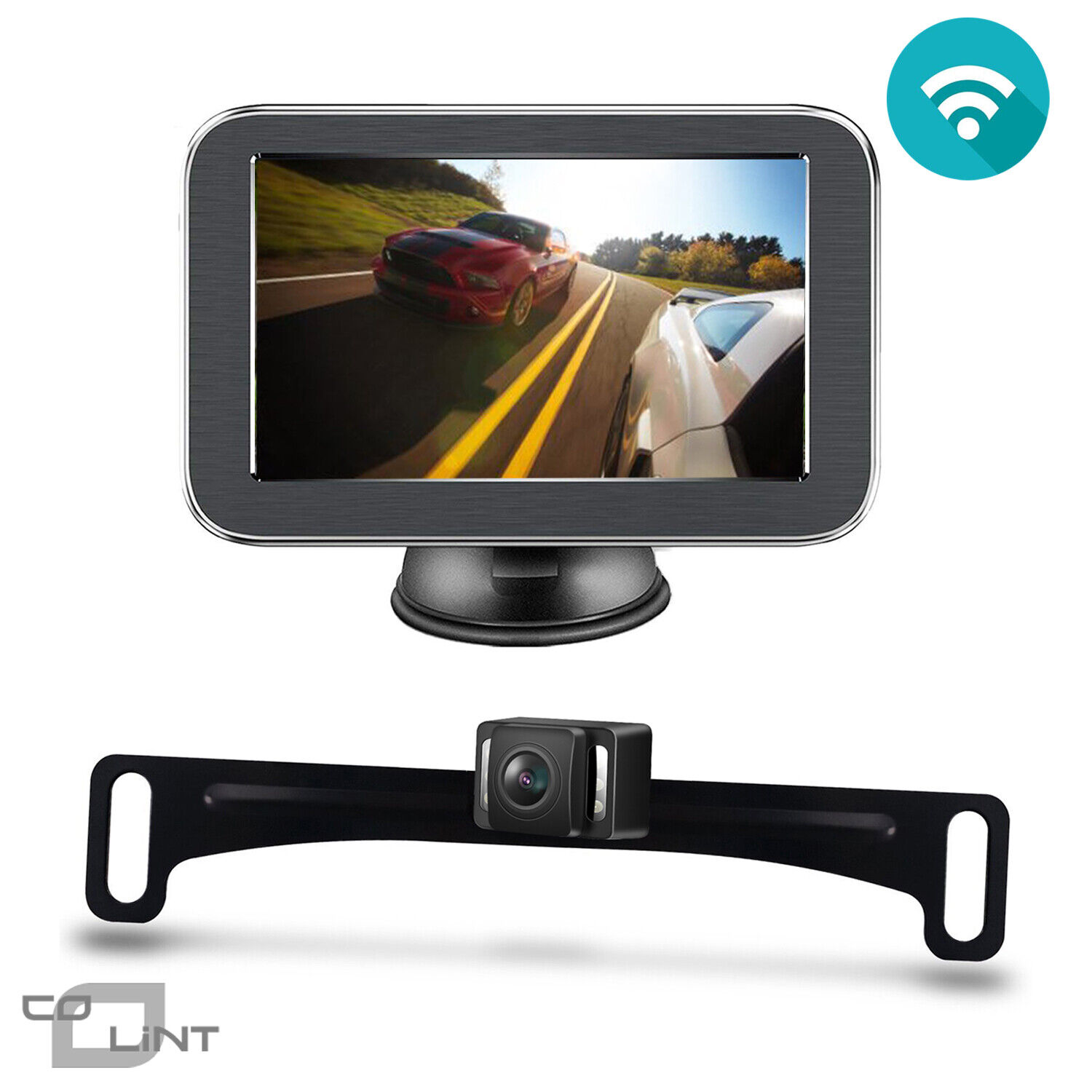 Wireless Backup Camera >> Details About Wireless Backup Camera With Monitor Kit 5 Inch Lcd Rear View Monitor Rear Camera