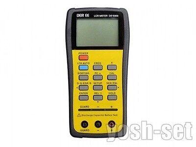 New DER EE DE-5000 High Accuracy Handheld LCR Meter from Japan