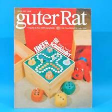 Guter Rat 3-1981 Verlag für die Frau DDR Notarem-Fernglas Trockensträuße Grill A