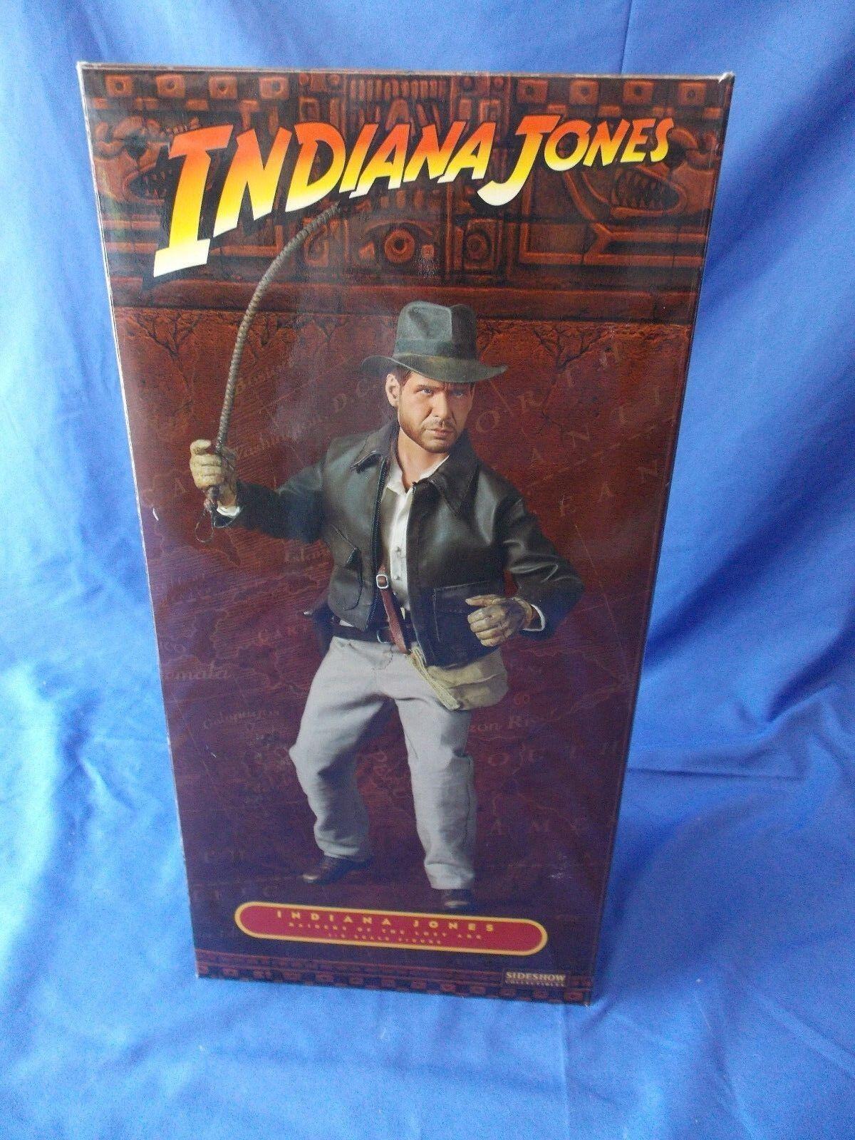 estar en gran demanda SIDESHOW COLLECTIBLES Indiana Jones 1 6 Escala Figura Raiders Raiders Raiders of the Lost Ark  Todo en alta calidad y bajo precio.