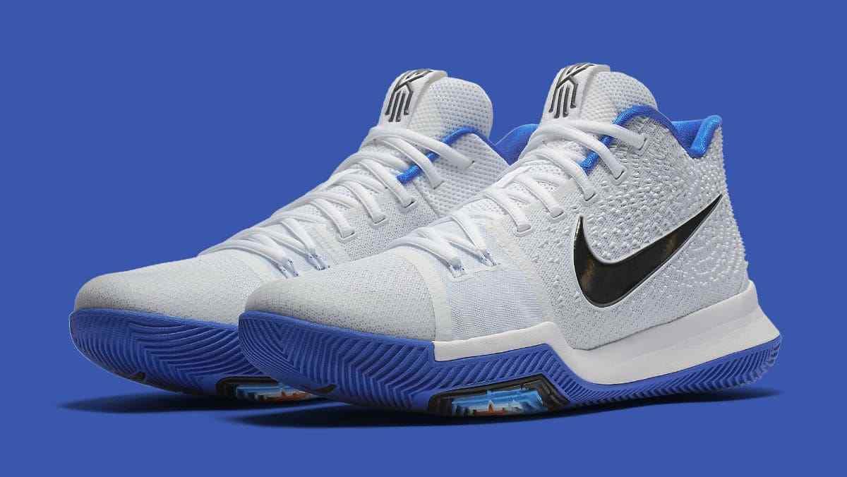 Nike Kyrie 3 III size 13. Hyper Cobalt Blue White. Duke Blue Devils. 852395-102.