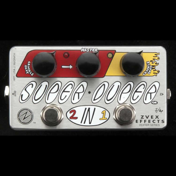Z.Vex Effects Super Duper 2 in 1 Vexter Series NEW ZVex