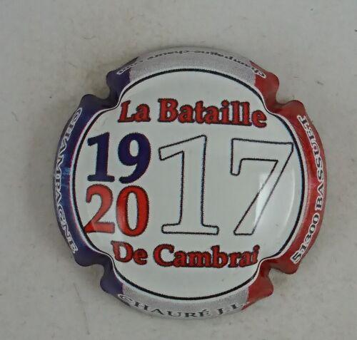 capsule champagne générique personnalisé de cambrai 1917 2017 CHAURE JL
