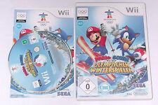 Spiel: MARIO & SONIC BEI DEN OLYMPISCHEN WINTERSPIELEN für Nintendo Wii + WiiU