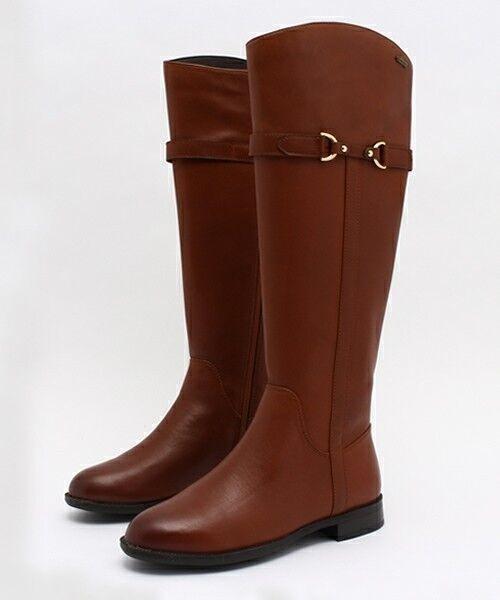 NEW Clarks Damenschuhe Leder LONG KNEE HIGH Stiefel MINT TAN AQUA GORETEX   TAN MINT f6af3e