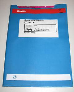 Werkstatthandbuch-VW-LT-4-Zylinder-Einspritzmotor-4-Ventiler-Mechanik-Kuehlung