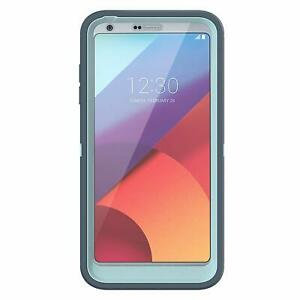 buy popular 64893 90c63 Details about OtterBox DEFENDER SERIES Case for LG G6 MOON RIVER (BAHAMA  BLUE/TEMPEST BLUE)