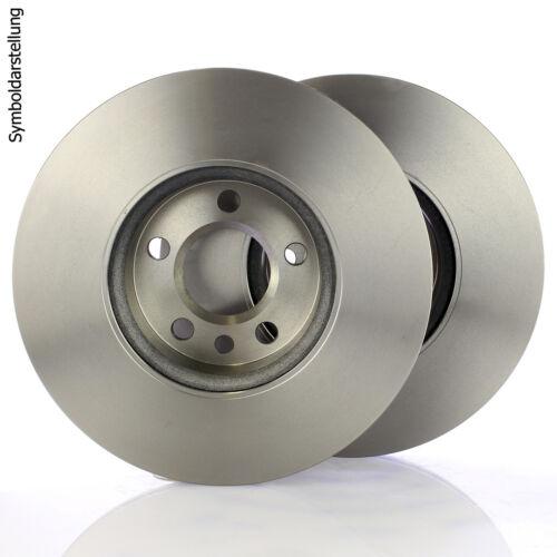 2 Bremsscheiben Ø 284mm Satz vorne für MERCEDES-BENZ C-KLASSE W202 C180 C250 D