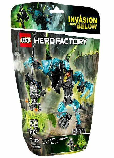 LEGO® Hero Factory 44026 CRYSTAL Beast vs. BULK NEU OVP NEW MISB NRFB A+++