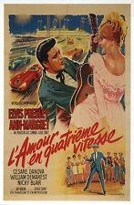 Elvis Presley & Ann-Margret Film Image France, Viva Las Vegas -- Modern Postcard