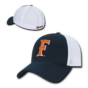 02060c6e1 Details about NCAA CSUF Cal State Fullerton Titans University Structured  Mesh Flex Caps Hats