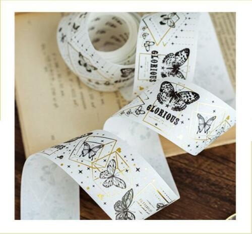 NEW Bronzing Dreamlike Rashomon angel girl washi tape  diary masking tape 5M