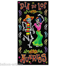 5ft Halloween Dia De Los Muertos Day Of The Dead Door Banner Cover Decoration