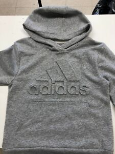 c30abff4b0cd Details about Adidas Boys' Exclusive Embossed Logo Hoodie size small (8)  BOYS