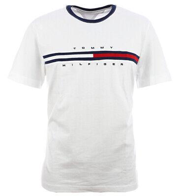 Tommy Hilfiger Herren T-Shirt Shirt weiß Size XS-XXXL | eBay