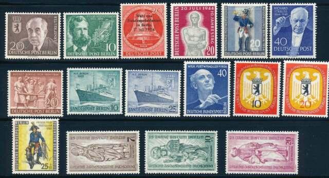Berlin Lot aus 1954-1955 postfrisch / **, Mi. 122,- Euro (40423)