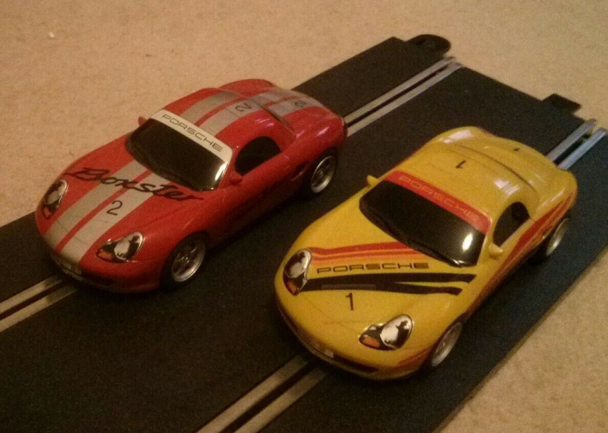 Scalextric Digital Set - Large Layout with Porsche Boxsters