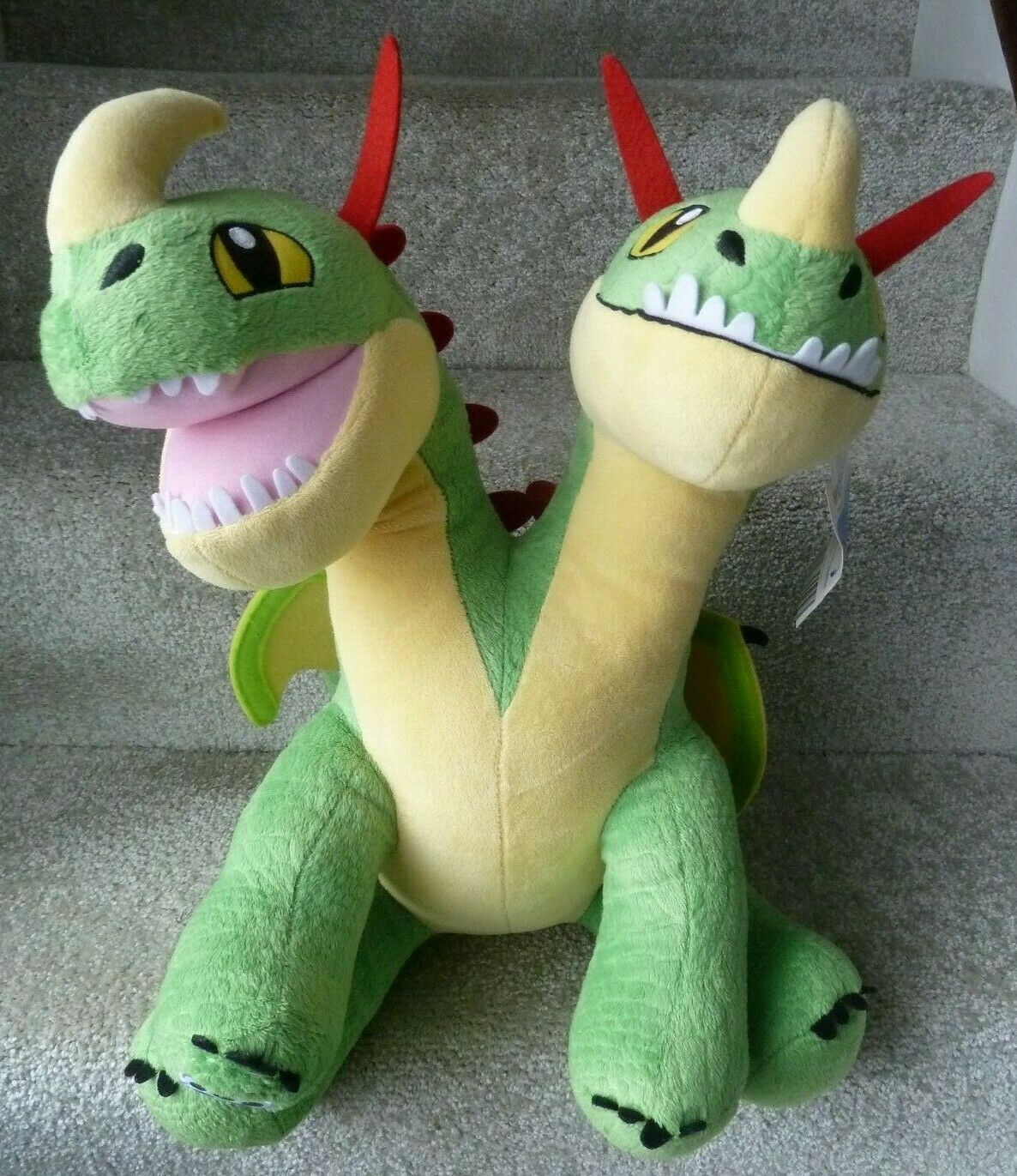 Build a Bear How To Train Your Dragon Barf And Belch Two Headed Dragons