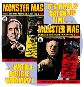 Monster Mag #4 and 5 - our latest two reprints at a discount price