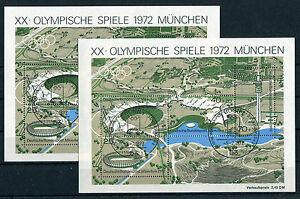 Bund-Block-7-gestempelt-2-Stueck-ETST-Bonn-BRD-723-726-Olympische-Spiele-used