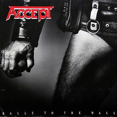 ACCEPT 1983 BALLS TO THE WALL JUMBO DOUBLE PROMO POSTER ORIGINAL