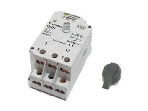 CONDOR Installationsschalter Drehschalter Schalter 400V 10-16Am für Karcher HDS