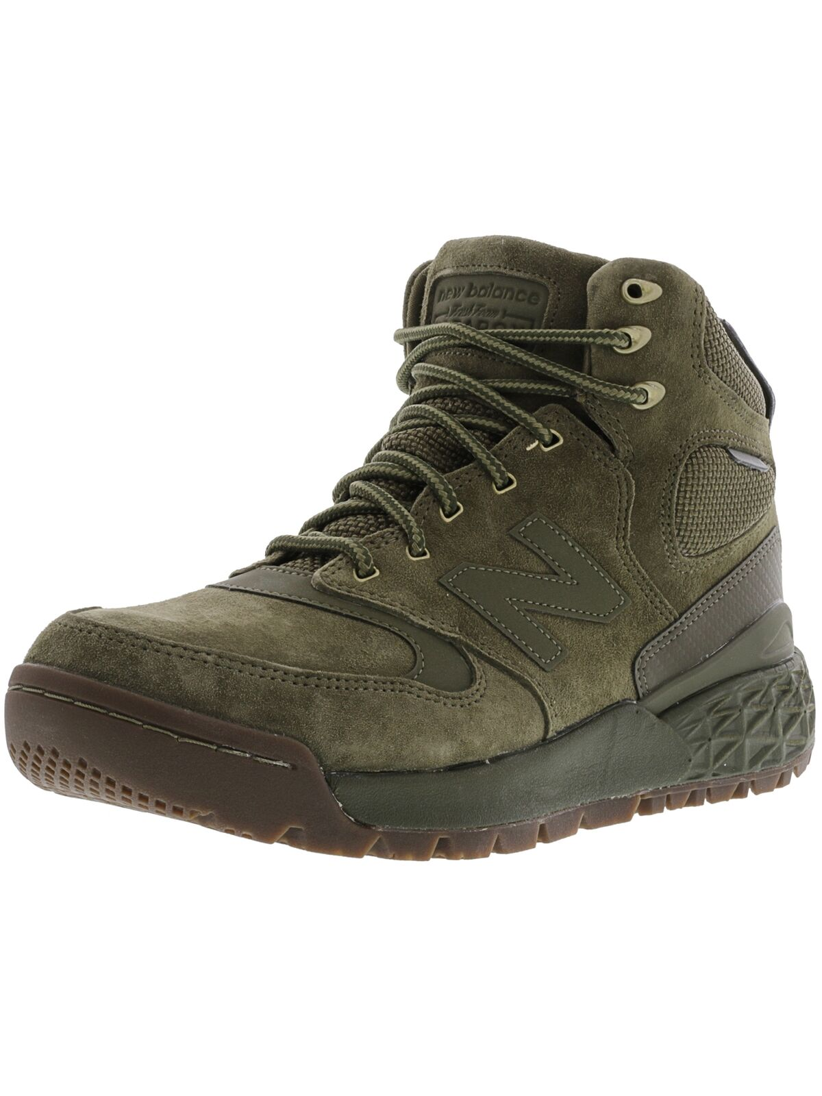 New Balance Men's Hflpx High-Top Suede Fashion Sneaker
