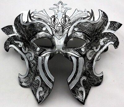 Vintage Roman Greek Gladiators Warrior Costume Venetian Masquerade Men's Mask