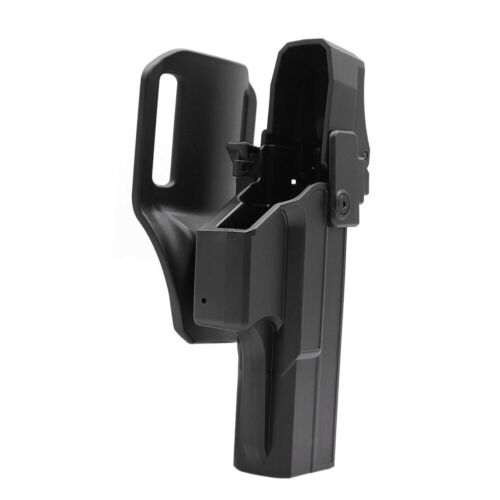 Details about  /Police Duty Holster Fit Glock 17 22 31 Gen1-5 Drop Offset Holder Thumb Level III