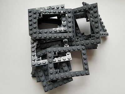Element 4632574 Lego Dark Stone Grey Plate Mod 1x1 Part 4081 4081b Qty:25-New