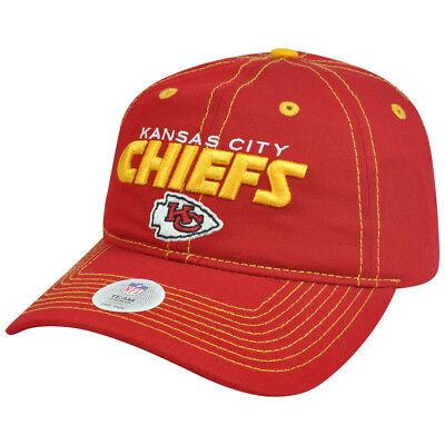 Weitere Ballsportarten Fanartikel KöStlich Nfl Friseur Kansas City Chiefs Einstellbarer Kleidungsstück Waschen Gebogener