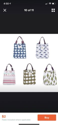 Details about  /lunch box Tote