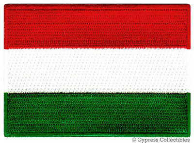 Free Shipping REPUBLIC OF HUNGARY HUNGARIAN NATIONAL FLAG Sew on Patch