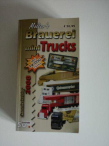 Molter's Brauerei Mini Trucks Buch Katalog 2008 mit 14 000 Trucks